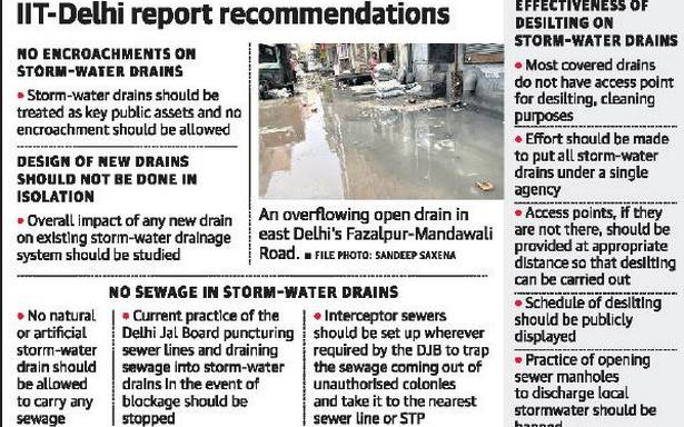 Should put all storm-water drains under single agency