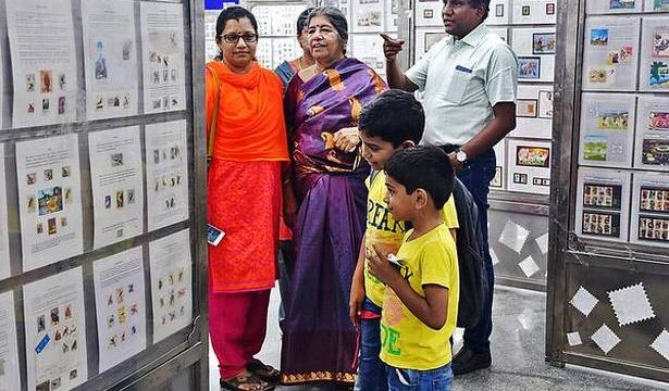 Three-day stamps exhibition, contest evoke good response