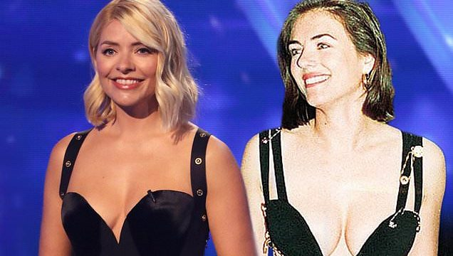Holly Willoughby channels Elizabeth Hurley in THAT racy