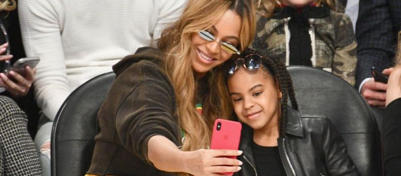 All Three of Beyoncé's Kids Made a Surprise Appearance in Her